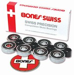 Bone Swiss Skate Bearings