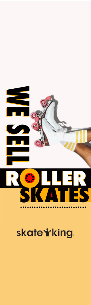 We sell skates at Skate King!